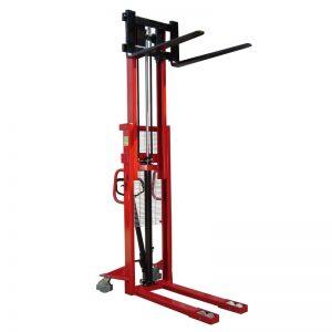 adjustable-fork-pallet-stacker