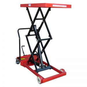 double-scissor-lift-table