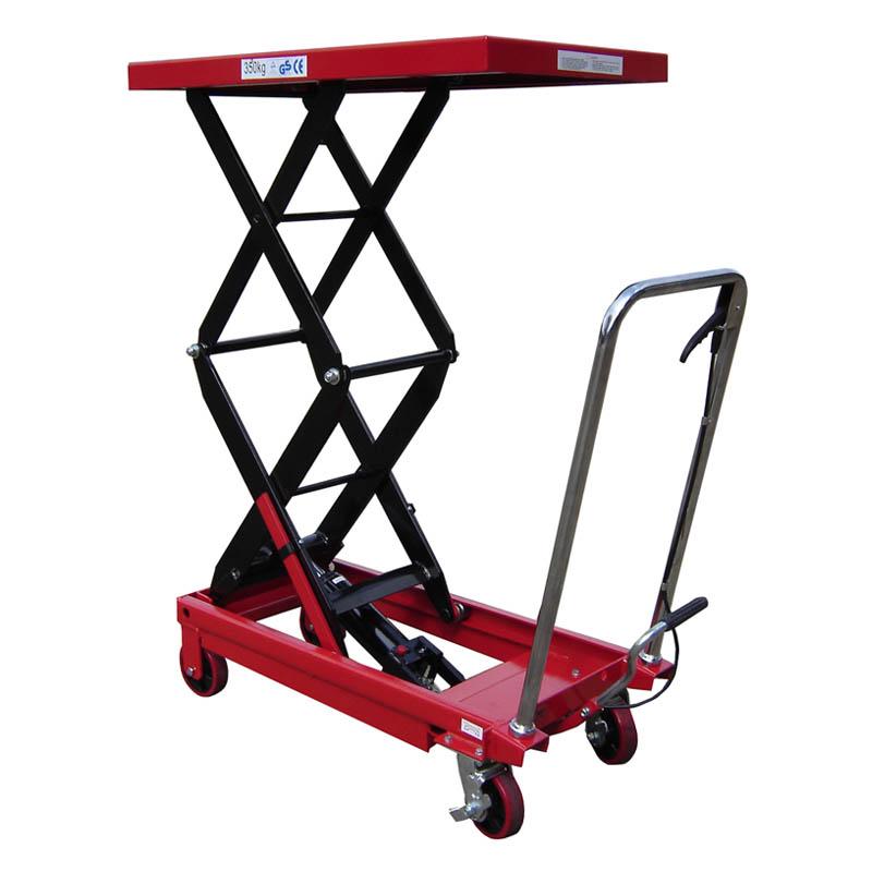 Double Mobile Scissor Lift Table (TXL350D) - 350kg