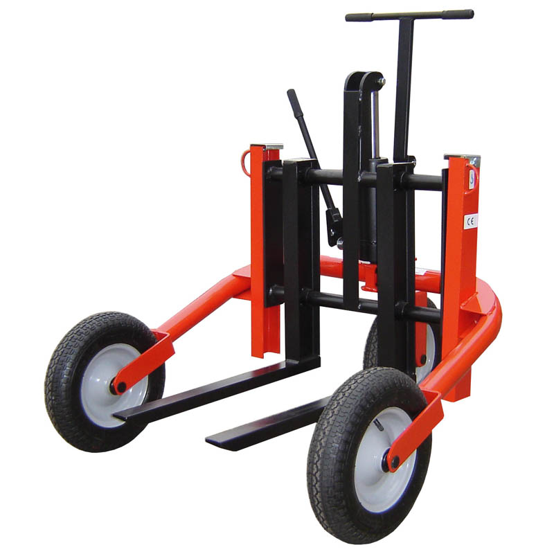 mini rough terrain pallet truck tnv500 liftmate pallet trucks stackers scissor lifts. Black Bedroom Furniture Sets. Home Design Ideas