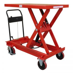 Single Manual Scissor Lift Tables