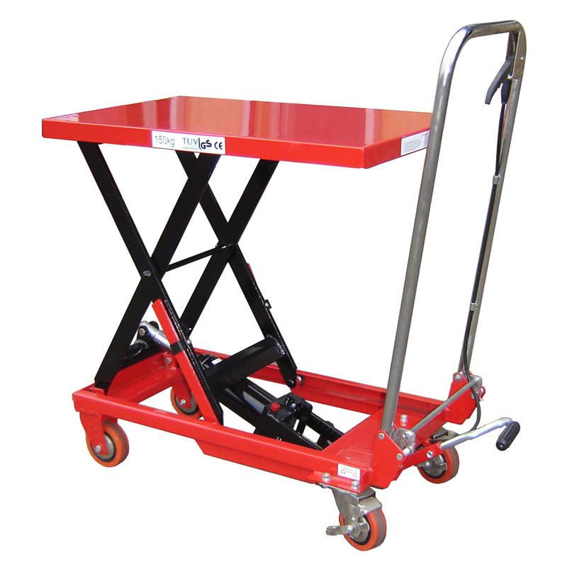 Mobile Scissor Lift Table (TXL150) - 150kg