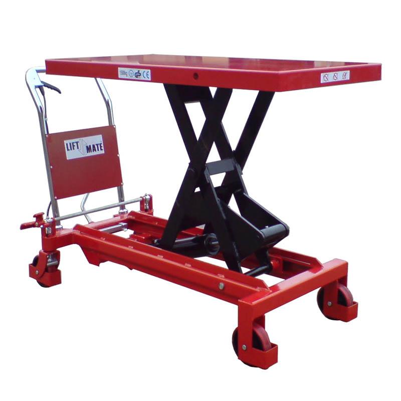 Heavy Duty Mobile Scissor Lift Table (TXL1500) - 1500kg
