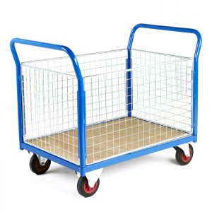 Platform-Trolley-with-Removable-Mesh-Sides