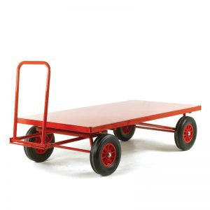 flat-bed-turntable-trailer