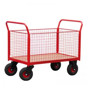 mesh-platform-trolley-with-pneumatic-wheels-th700ch-pn