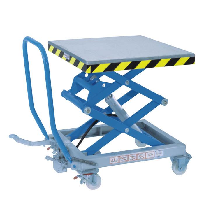 250kg Double Mobile Scissor Lift Table