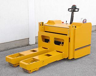 10t heavy duty powered pallet truck