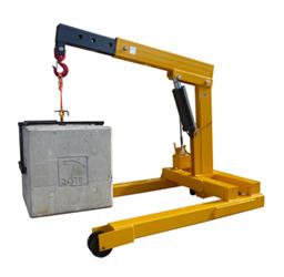 5000kg Heavy Duty Floor Crane