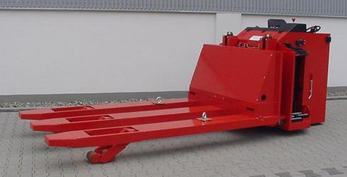 lept100 heavy duty powered pallet truck