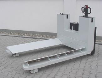 powered reel handling truck b1