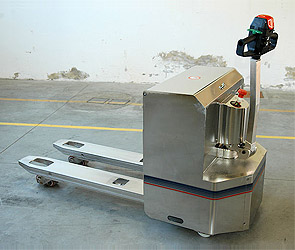 powered stainless steel pallet truck 02