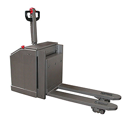 powered stainless steel pallet truck 03