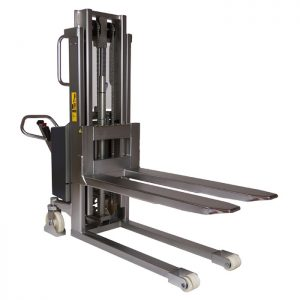 stainless-steel-semi-electric-stacker