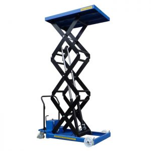 Triple Manual Scissor Lift Tables